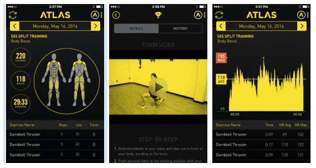 atlas brings gym session tracking to android wear 3 - Atlas brings gym session tracking to Android Wear