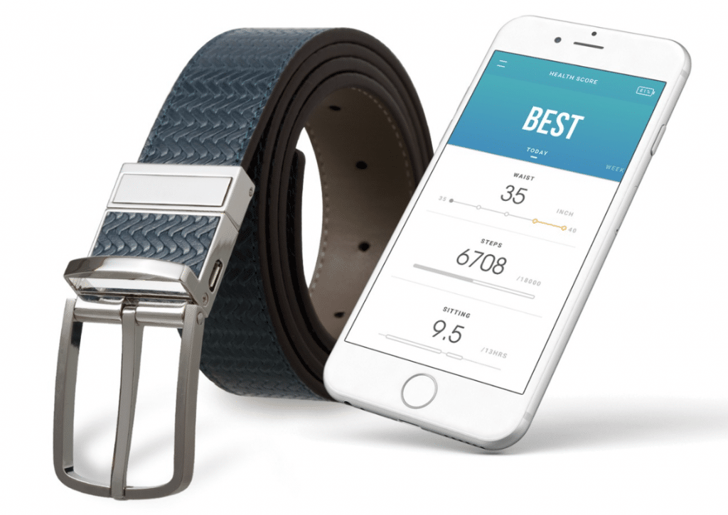 welt smart belt which keeps tabs on your health 1024x725 - CES 2019: Welt is a smart belt that monitors your health