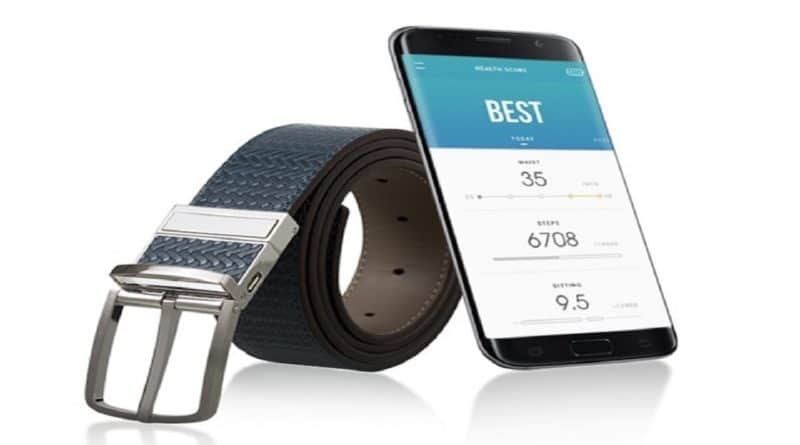 WELT: smart belt which keeps tabs on your health