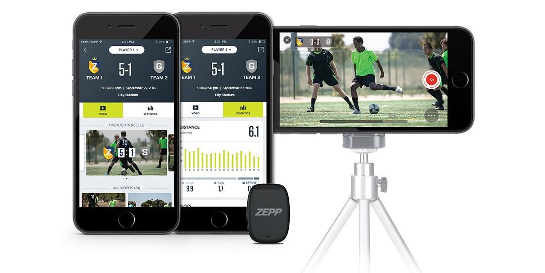zepp play soccer is a new wearable for world s most popular sport 2 - Zepp Play Soccer is a new wearable for world's most popular sport