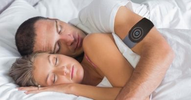 Anti-Snore Wearable: stops you snoring and improves sleep