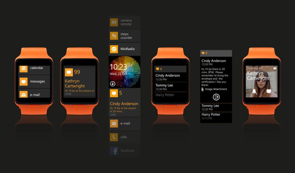 microsoft s cancelled moonraker smartwatch shown in leaked video 2 - Microsoft's cancelled Moonraker smartwatch shown in leaked video