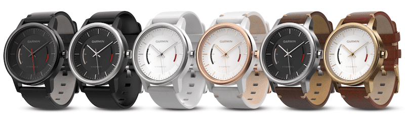 top fitness trackers and health gadgets - Garmin's Vivomove is a stylish watch with activity tracking