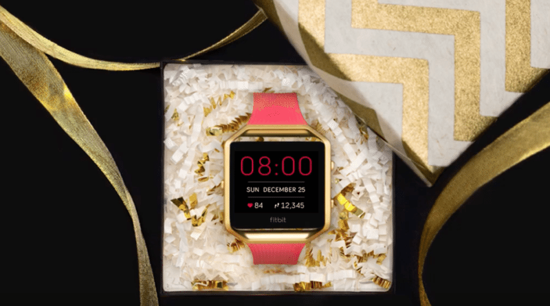 Fitbit gets holiday boost after app tops Apple chart
