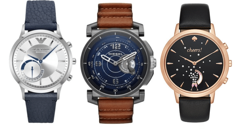 Fossil expands portfolio with Diesel, Armani and Kate Spade hybrid smartwatches