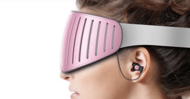 Naptime: the first smart eyeshade with EEG technology