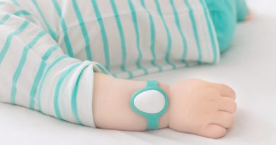 Neebo, the next generation wearable monitor for babies