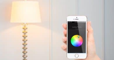 Qube: low cost LED smart bulb that syncs with your Fitbit