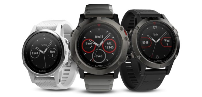 ces 2017 garmin s fenix 5 series comes in smaller sizes - Smartwatches galore at CES 2017