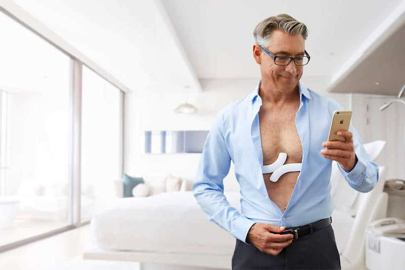 ces 2017 qardio launches wearable ecg ekg monitor - CES 2017: Qardio launches wearable ECG/EKG monitor