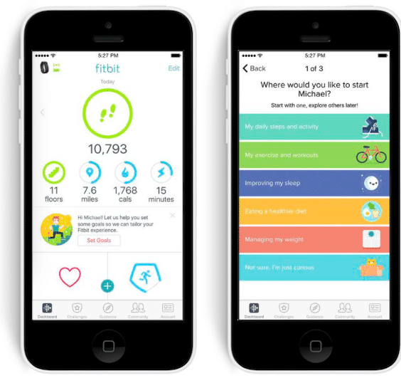 fitbit gets personal with tailored goals and social feed 2 - Fitbit gets personal with tailored goals and social feed
