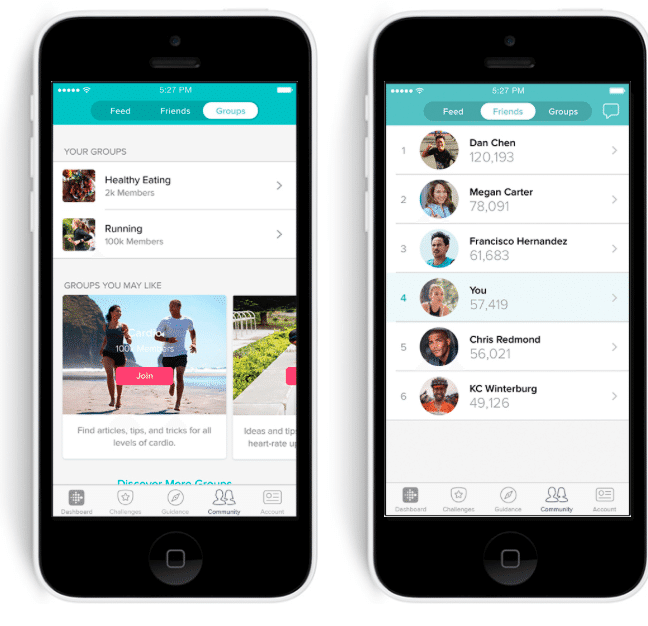 fitbit gets personal with tailored goals and social feed - Fitbit gets personal with tailored goals and social feed