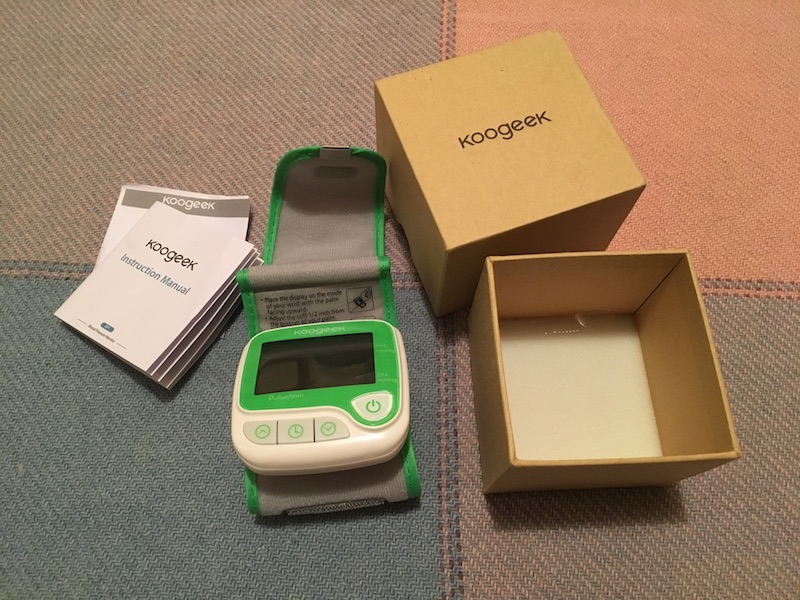 review koogeek wrist blood pressure monitor with heart rate 5 - Review: Koogeek wrist blood pressure monitor with heart rate