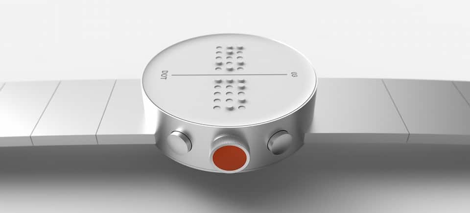 the world s first braille smartwatch set to hit the shelves in march 2 - The world's first Braille smartwatch set to hit the shelves in March