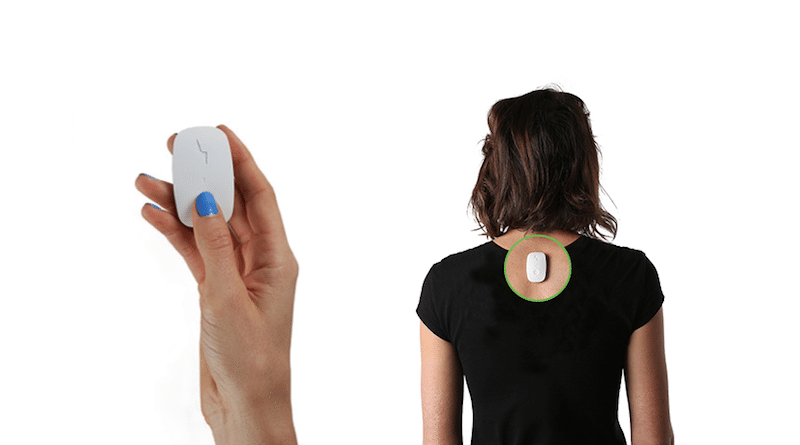 Upright Go: posture training on the move