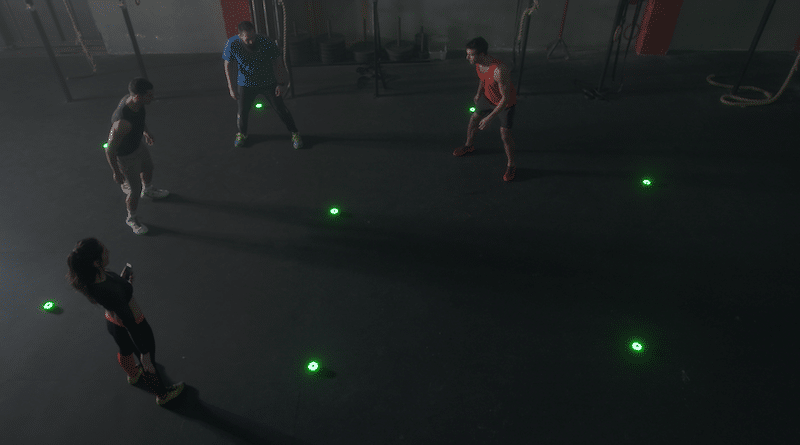 BlazePod: the Flash Reflex Training system for everyone
