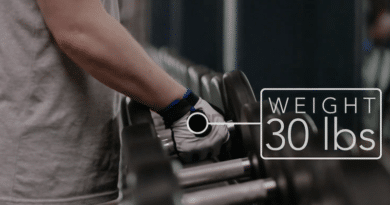 Delta Gloves: give you real-time insights into your exercises, sets, and reps so you never lose count
