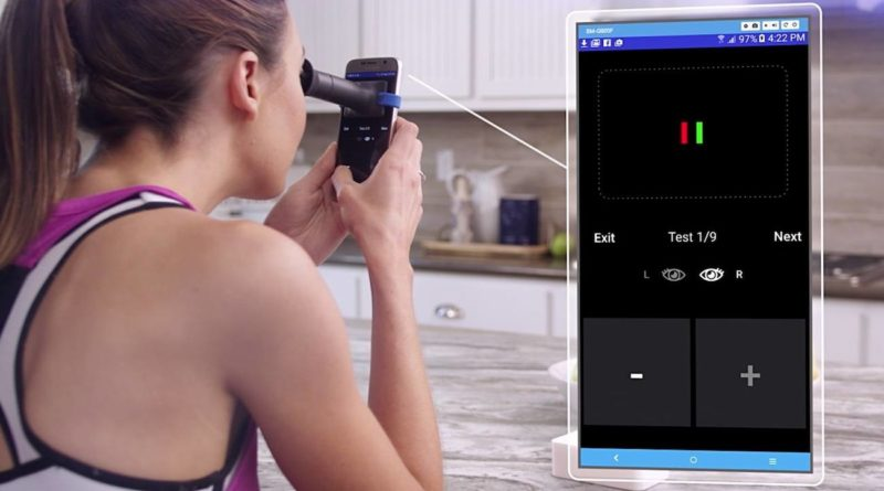EyeQue: affordable and convenient personal smartphone eye test