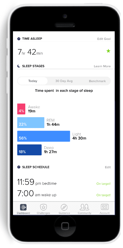 fitbit s new sleep tracking feature explained 2 - Ten gadgets for advanced sleep monitoring