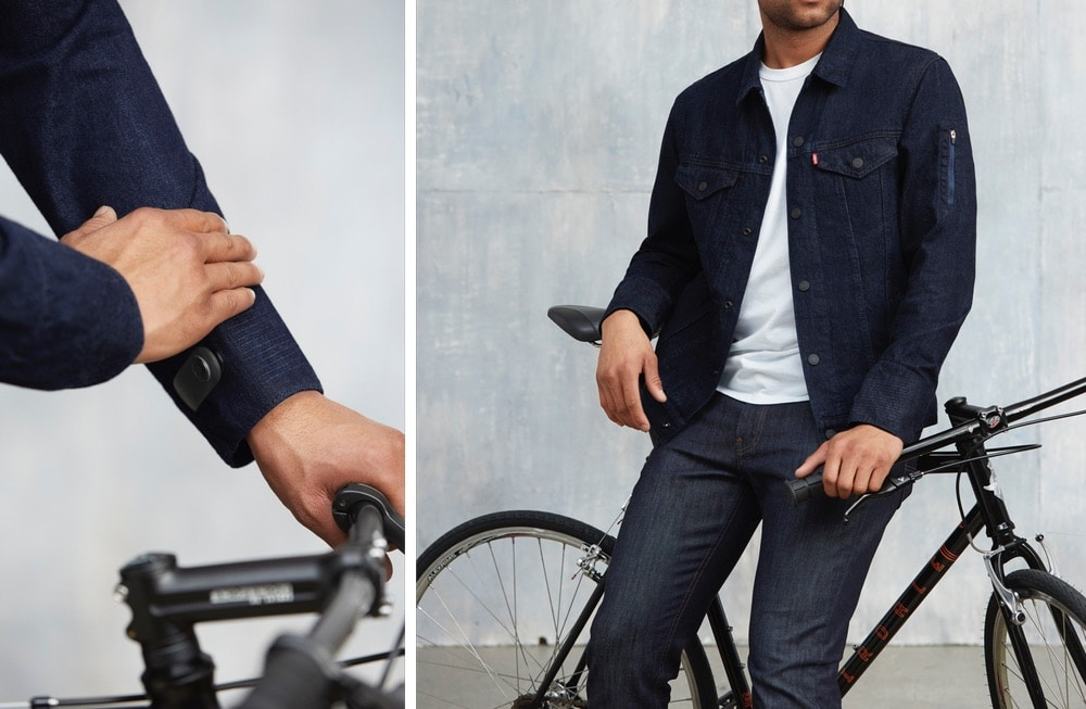google and levi s connected jacket goes on sale this week 2 - Update adds a few more features to Google and Levi's smart jacket