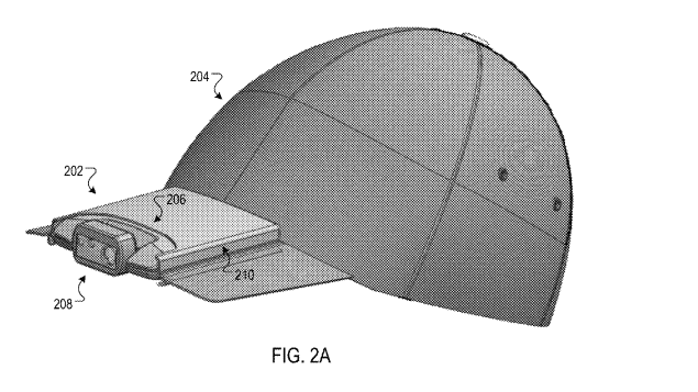 google gets patent for odd looking camera hat - Google gets patent for odd looking camera hat