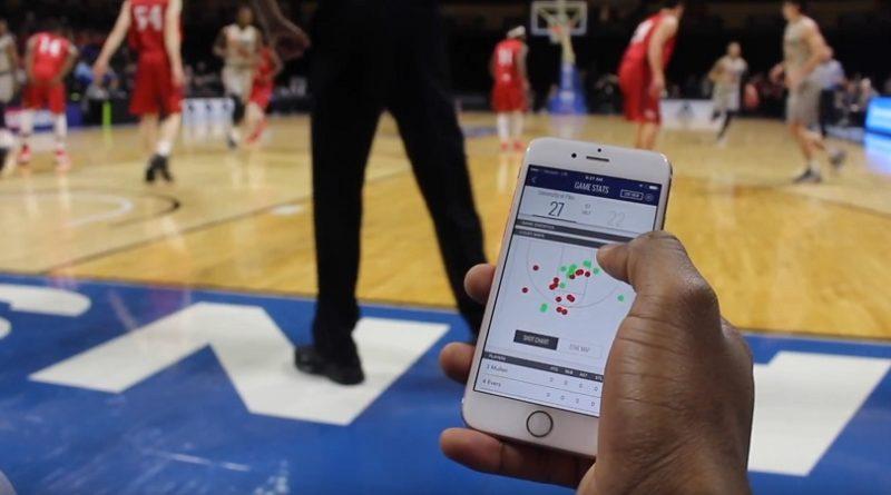 ShotTracker brings real time stats to NAIA basketball tournament