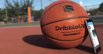 Take your basketball skills up a notch with DribbleUp