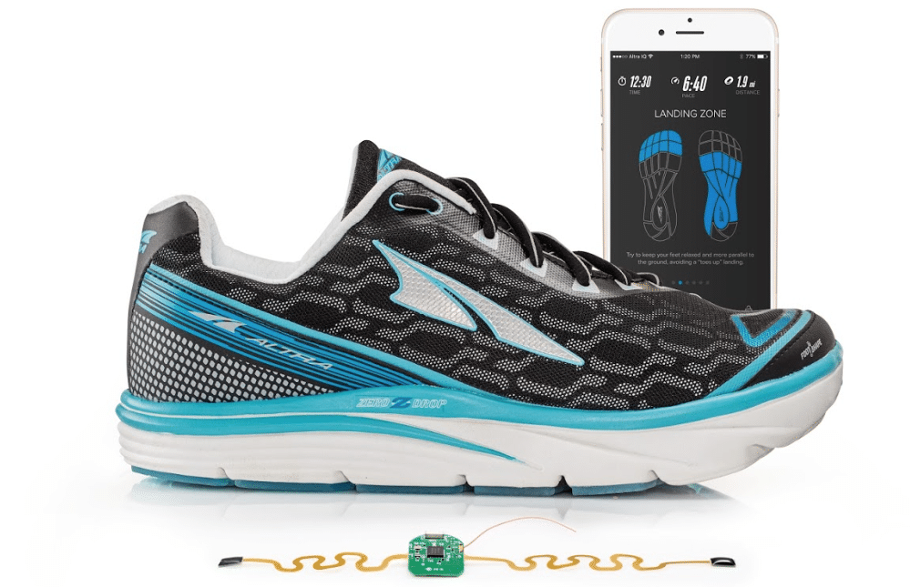 altra iq shoes track your running form and speed from both feet 2 - Altra IQ shoes track your running form and speed from both feet