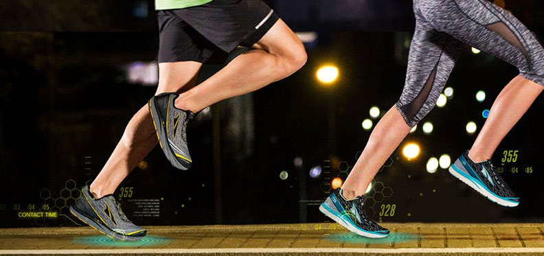 Altra IQ shoes track your running form and speed from both feet