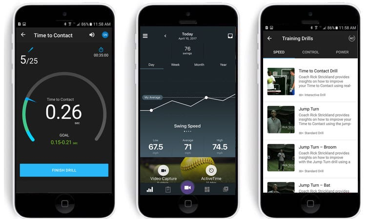 blast motion introduces detailed swing tracking for softball players - Blast Motion introduces detailed swing tracking for softball players
