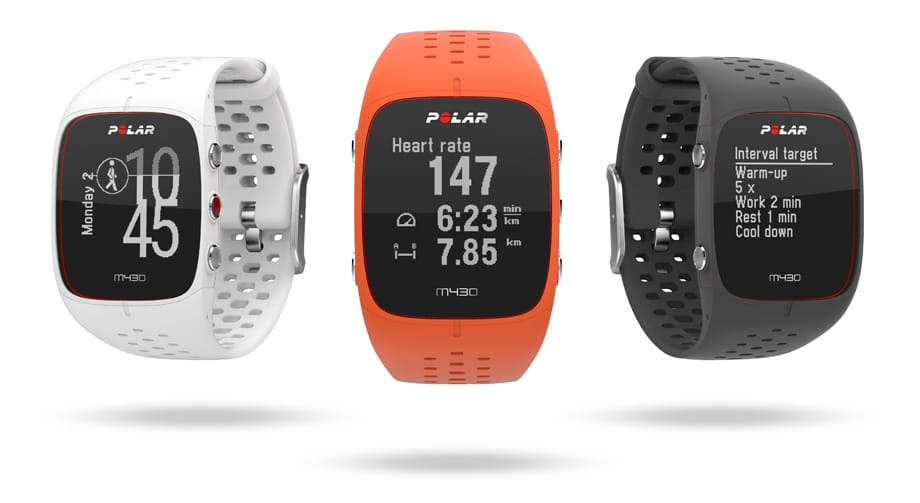 polar announces the m430 its newest running watch - Polar announces the M430, its newest running watch