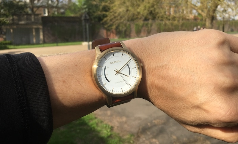 review garmin vivomove a stylish analog watch for the health conscious - Review: Garmin Vivomove, a stylish analog watch for the health conscious