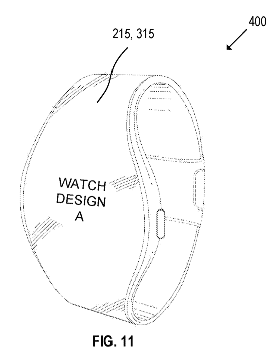 apple watch patent hints at flexible display and round face - Apple Watch patent hints at flexible display and round face