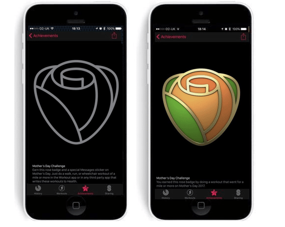 apple watch users can win a new badge on mother s day - Apple Watch users can win a new badge on Mother's Day