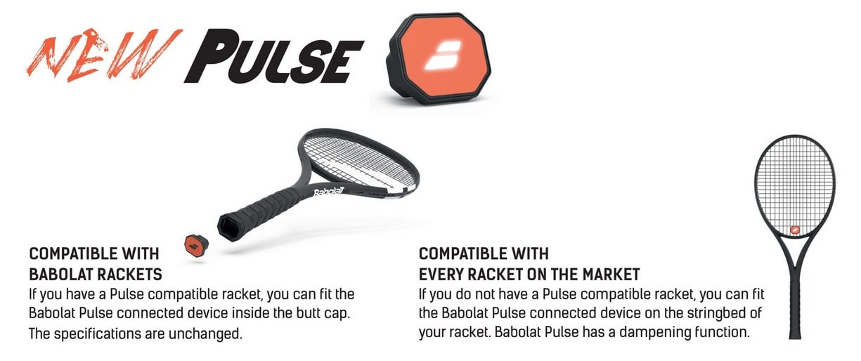 babolat pulse converts your plain tennis racket into a smart one - Babolat Pulse converts your plain tennis racket into a smart one
