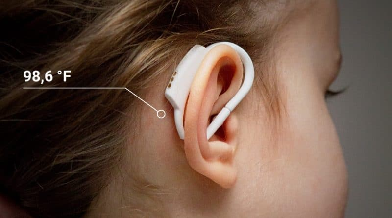 degree°: continuous, wearable in-ear thermometer for children