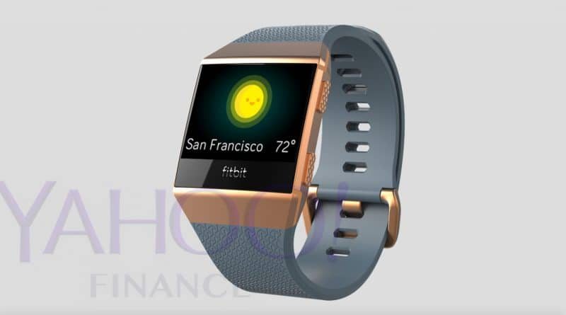 Leaked photos give us first glimpse of Fitbit's new smartwatch