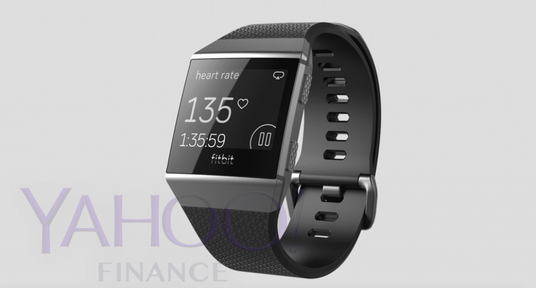 leaked photos give us first glimpse of fitbit s new smartwatch - Leaked photos give us first glimpse of Fitbit's new smartwatch