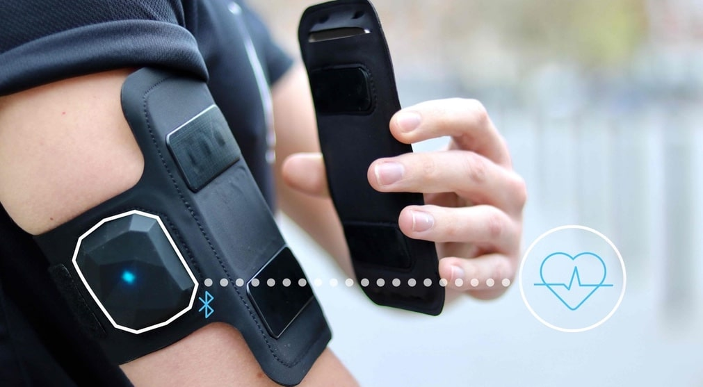 Shapeheart Armband The Magnetic Phone Case Heart Rate Monitor
