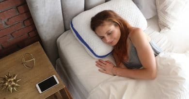 SleepSmart Pillow: supportive, height adjustable pillow for side sleepers