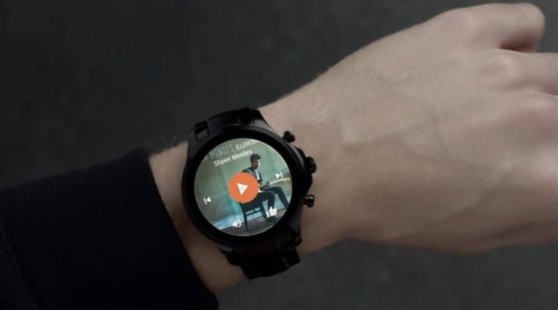 Emporio Armani shows off its first touchscreen smartwatch at Milan Fashion Week