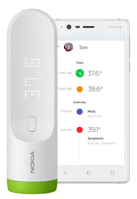 gear up for the flu season with a smart thermometer 2 - Gear up for the flu season with a smart thermometer