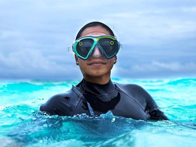 seeseekers dive mask is a waterproof version of snapchat spectacles - SeeSeekers dive mask is a waterproof version of Snapchat Spectacles
