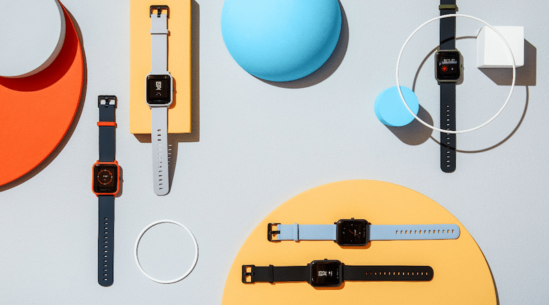 Amazfit Bip is an inexpensive Apple Watch lookalike with GPS and heart rate