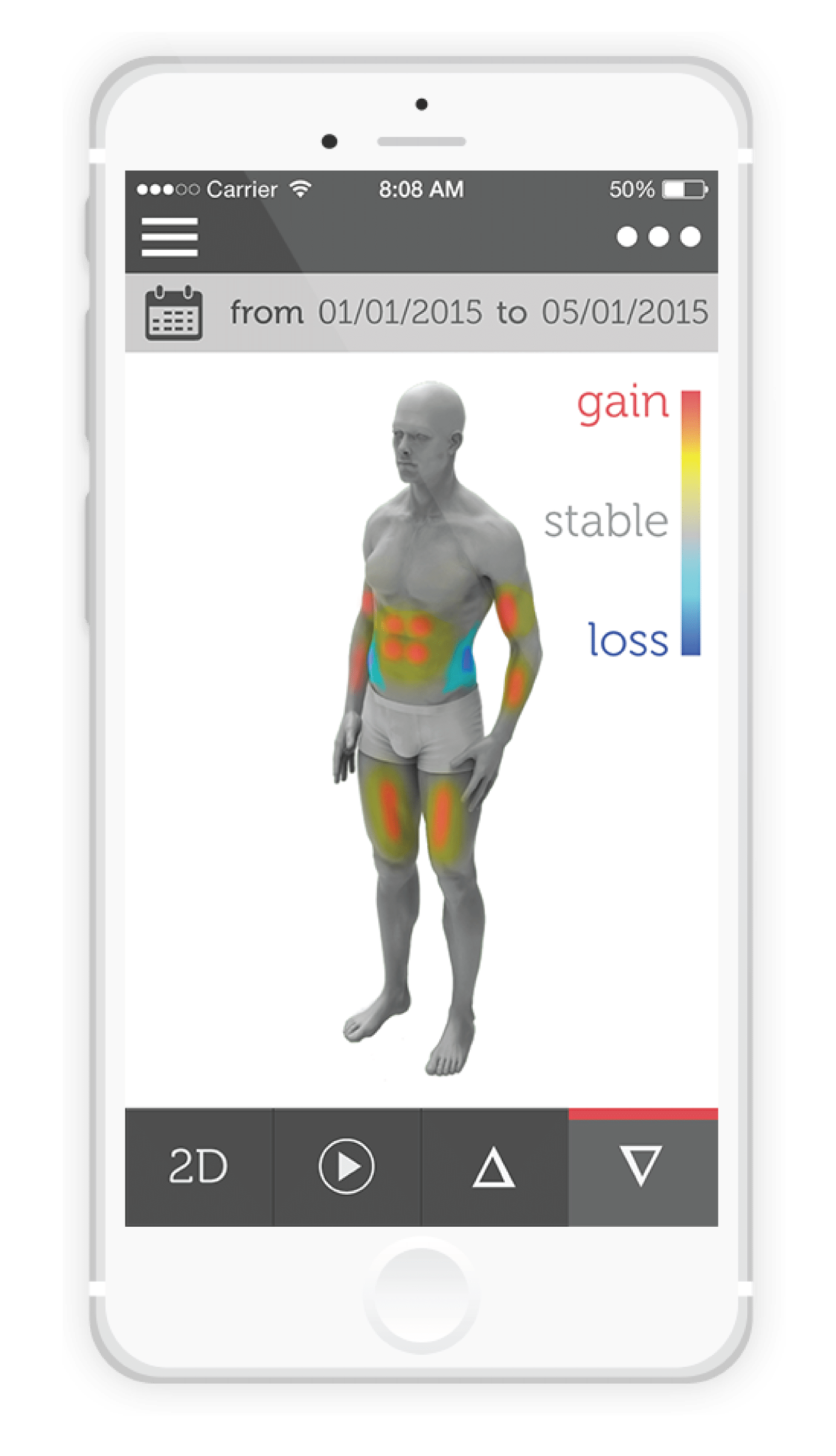 track your body fitness in 3d with shapescale - Track your body fitness in 3D with ShapeScale