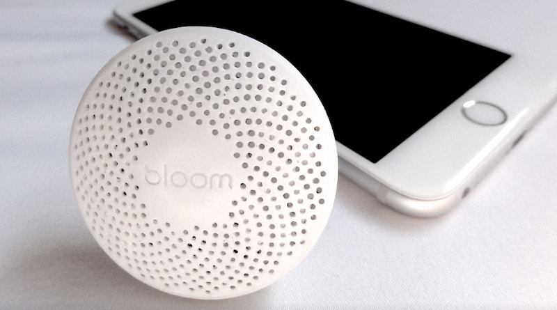 Bloom: the intelligent, portable air quality monitor