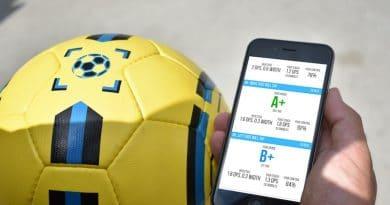 DribbleUp Smart Soccer Ball: gamify your training