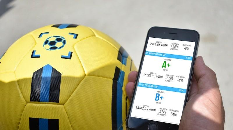 2e4c74527 DribbleUp Smart Soccer Ball: gamify your training