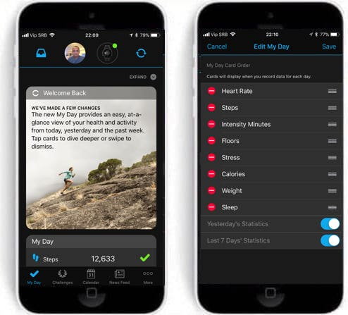 Garmin Connect Mobile App >> Garmin Starts Rolling Out Long Awaited Update To Connect