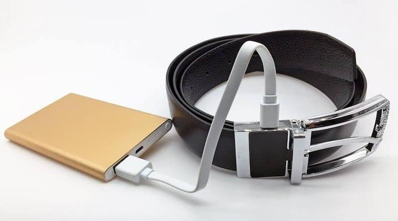 INIE Belt: a fashionable belt that helps to monitor your health